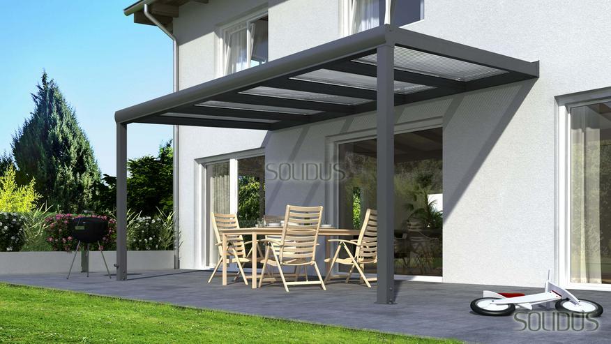 Gut bekannt Terrassenüberdachung aus Holz oder Alu mit Stegplatten und Glas XW88