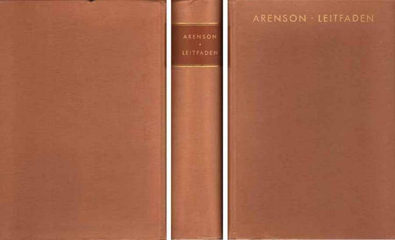 Buch von Adolf Arenson - Leitfaden durch 50 Vortragszyklen Rudolf Steiners