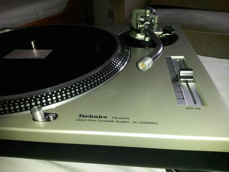 Bild 2: Technics SL-1200MK2 Turntables