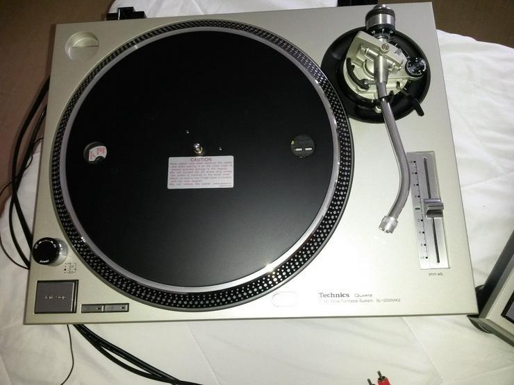 Bild 5: Technics SL-1200MK2 Turntables
