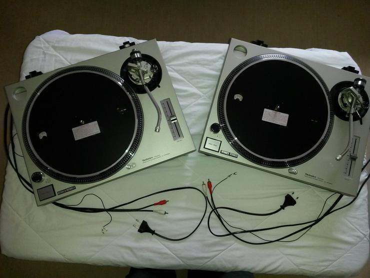 Technics SL-1200MK2 Turntables - Plattenspieler - Bild 1