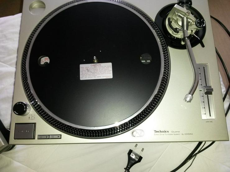 Bild 4: Technics SL-1200MK2 Turntables