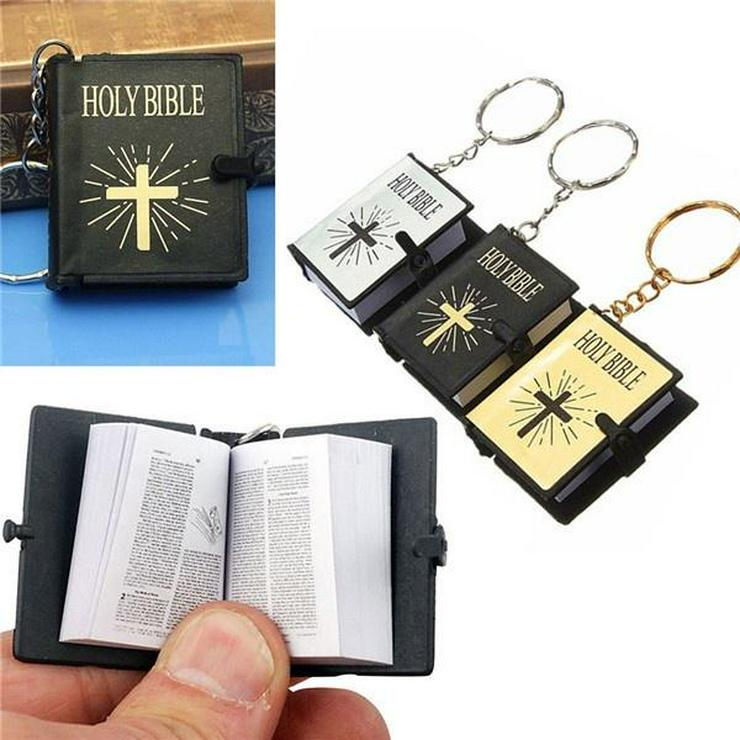 Schlüsselanhänger Mini-Bibel *NEU*