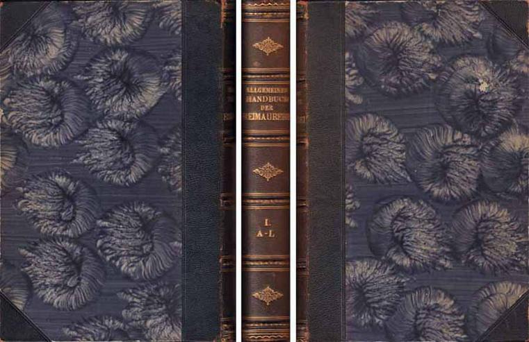 Allgemeines Handbuch der Freimaurerei Dritte Auflage 1. Band  A - L von Lennings