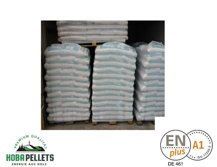 Pellets, Holzpellets, Sackware 15 kg, Premium Qualität HoBa