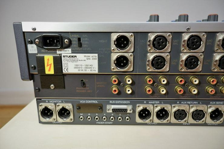 Bild 3: Studer A 779 Mixing Console