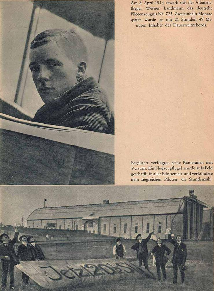 Bild 4: Buch von Adalbert Norden - Weltrekord Weltrekord - 1940