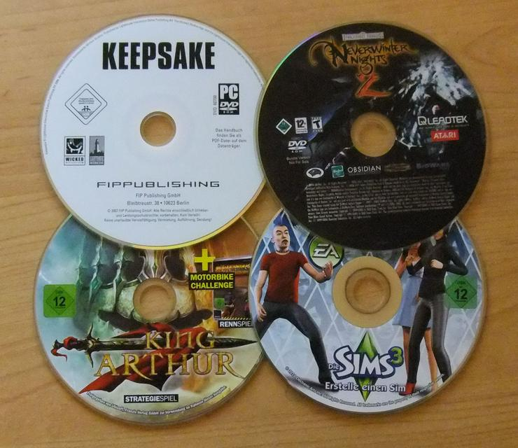 Keepsake, Neverwinter Nights 2, King Arthur und Die Sims 3 - PC Games - Bild 1