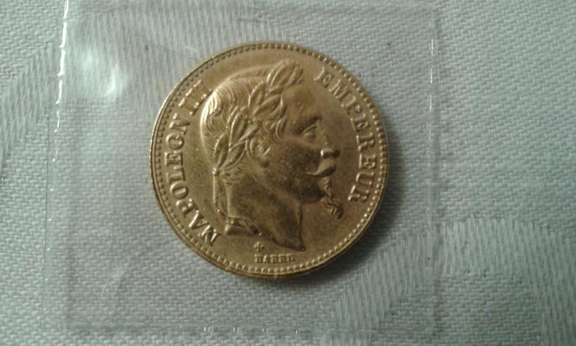 Francs Napoleon III – 1870