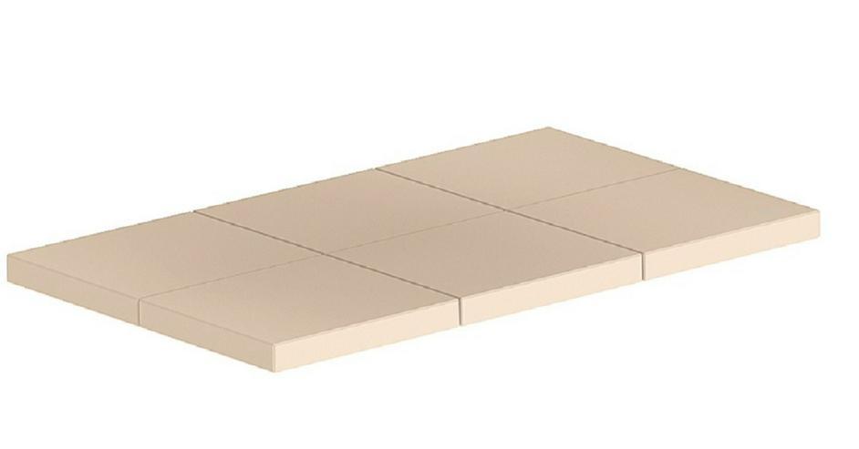 Aschekammerplatte für Holzvergaser Heizung Kessel HVS 16 25 40 60