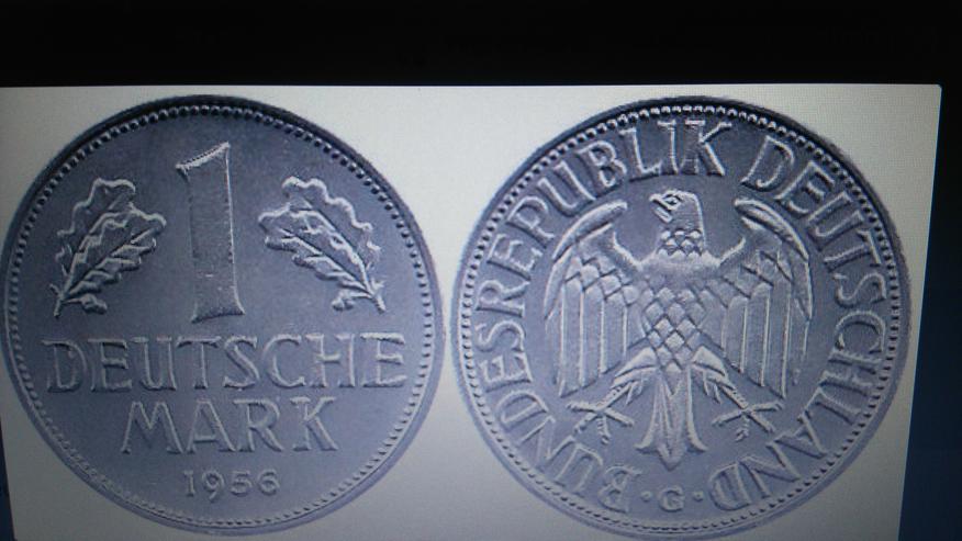 1 DM-Münze 1956 ! - Deutsche Mark - Bild 1