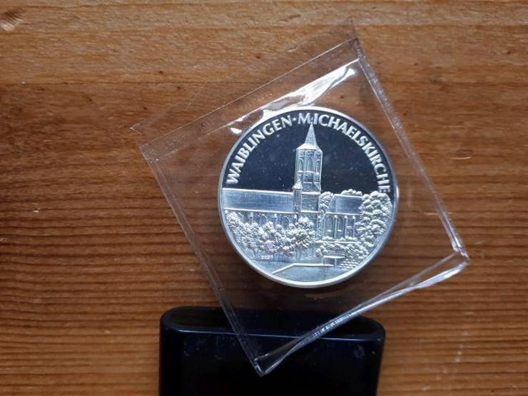 Silbermünze 500 Jahre Michaelskirche Waiblingen