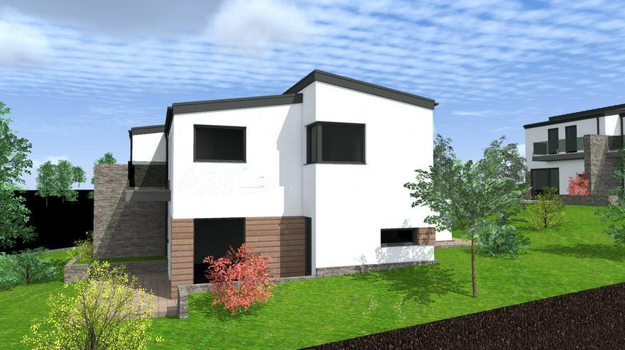 Bild 3: Am Stadtrand von Sopron, im Zentrum von Pereszteg, entsteht ein neu gebautes Gartenhausprojekt mit 1000 EURO / m2!