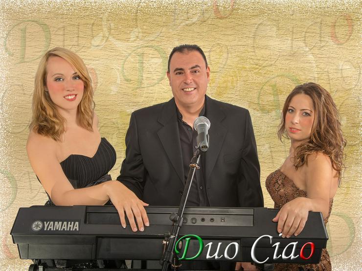 Dj Italienische duo band hochzeit party musik duo ciao