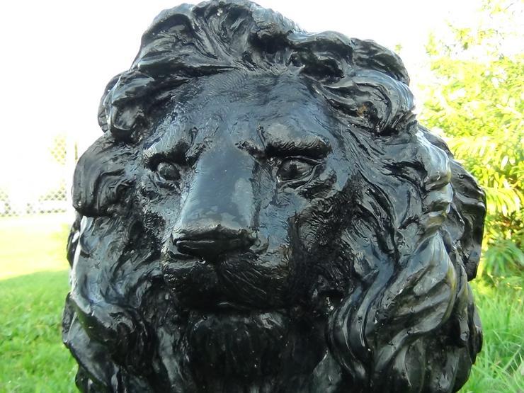 Bild 3: 2 Bronzelöwen für ein herrschaftliches Anwesen