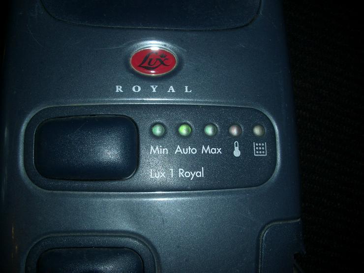 Bild 5: Lux Royal Staubsauger D820 + Motorbürste ZE3.1 Type 263PB1 + 24 Staubbeutel + sehr viele Filter!