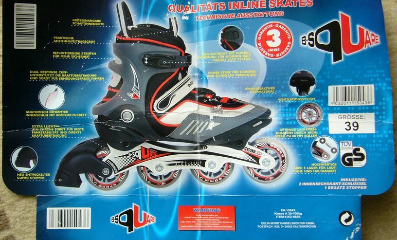 Neu ungetragen Inliner Skates Qualitäts Rollerblades OVP. Gr. 39