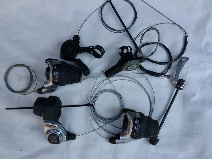 Bild 6: Shimano Ersatzteile