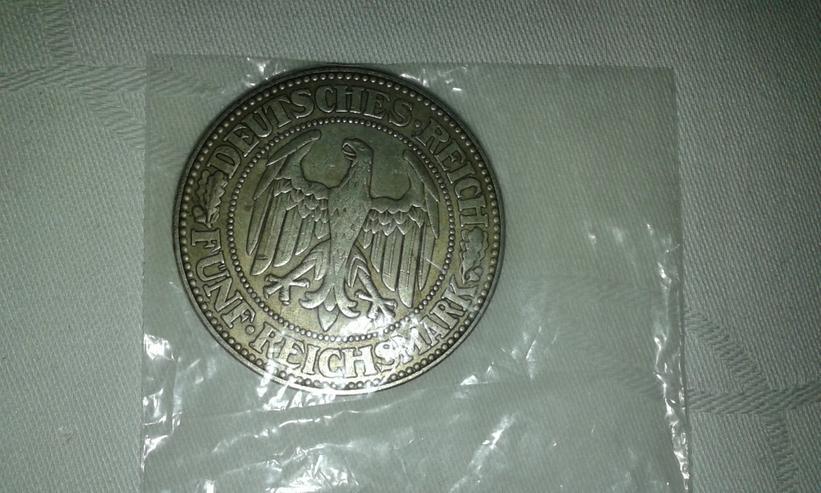 Bild 3: 5 Reichsmark 1927
