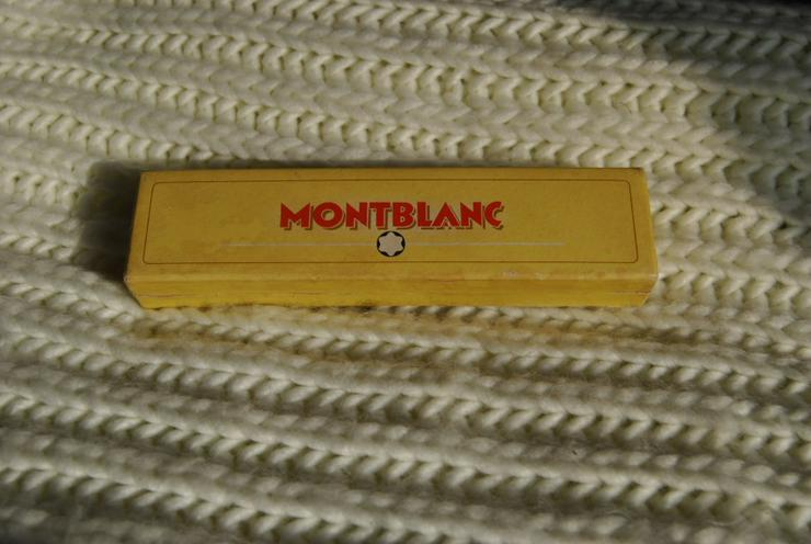 Alter Montblanc 264 Original 14k 585 Gold Füller / Füllfederhalter Kolbenfüller