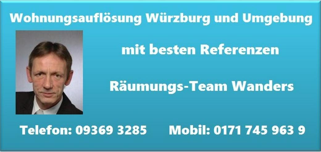 Bild 5: Wohnungsauflösung Würzburg Haushaltsauflösung Räumung Entrümpelung