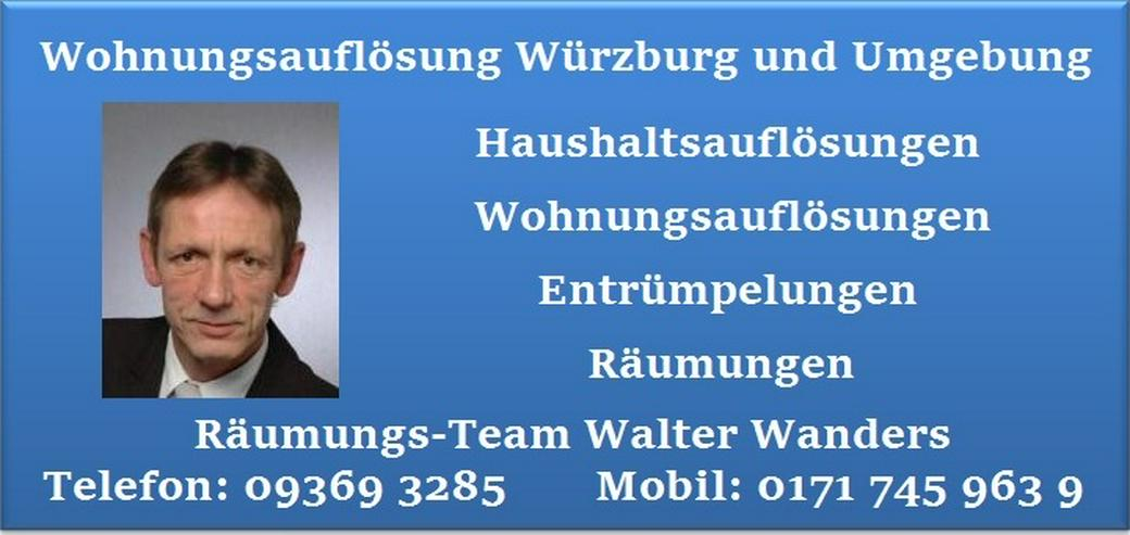 Bild 6: Wohnungsauflösung Würzburg Haushaltsauflösung Räumung Entrümpelung