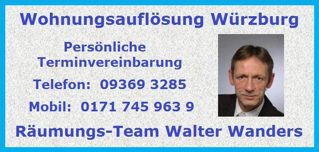 Bild 3: Wohnungsauflösung Würzburg Haushaltsauflösung Räumung Entrümpelung