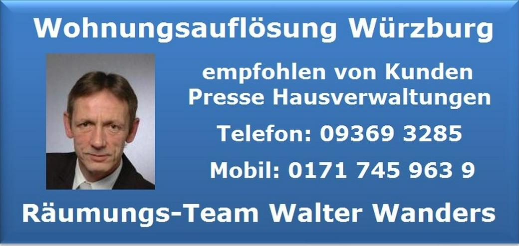 Bild 4: Wohnungsauflösung Würzburg Haushaltsauflösung Räumung Entrümpelung