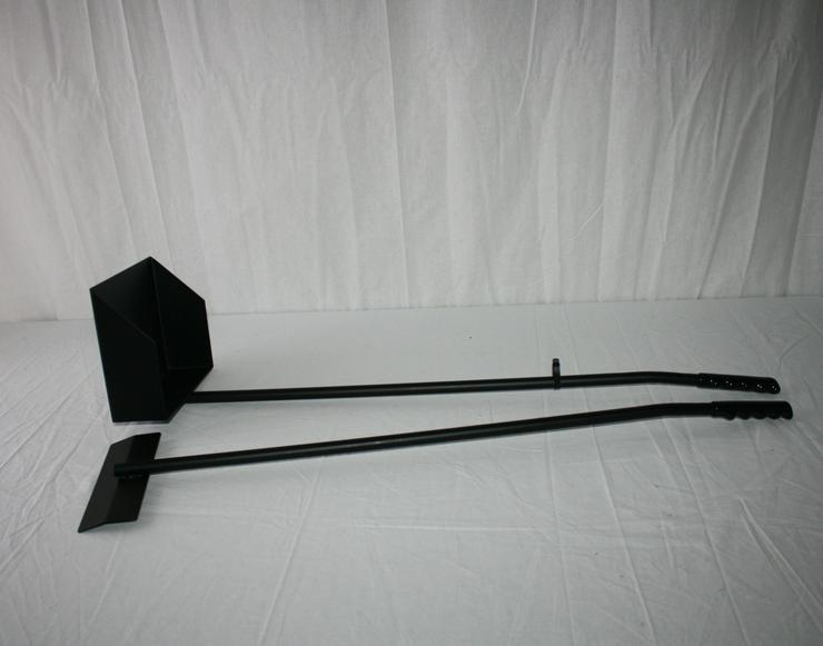 Kotschaufel / Kotkratzer Metall