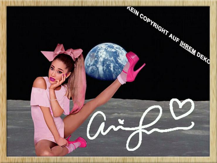 ARIANA GRANDE auf dem Mond!