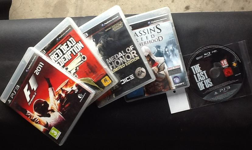 PS 3 Spiele für kleines ohne Kratzer