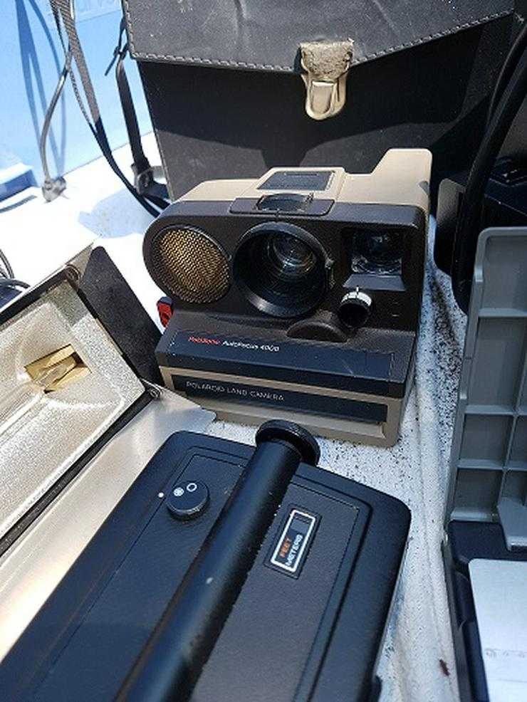 Bild 4: Achtung Sammler von Projektor u. Kamera