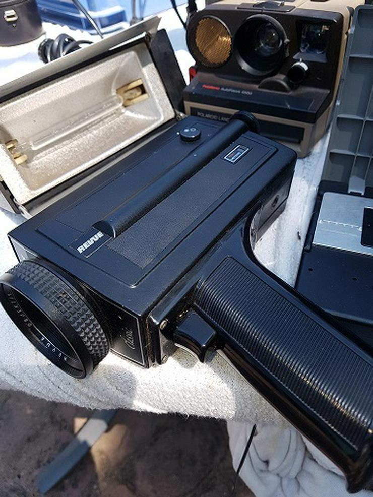 Bild 5: Achtung Sammler von Projektor u. Kamera