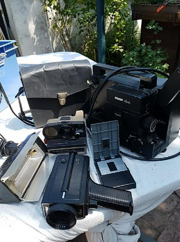 Bild 2: Achtung Sammler von Projektor u. Kamera