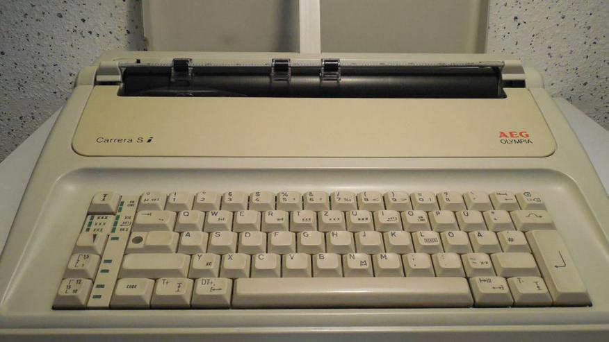 AEG Olympia Si elektrische Schreibmaschine