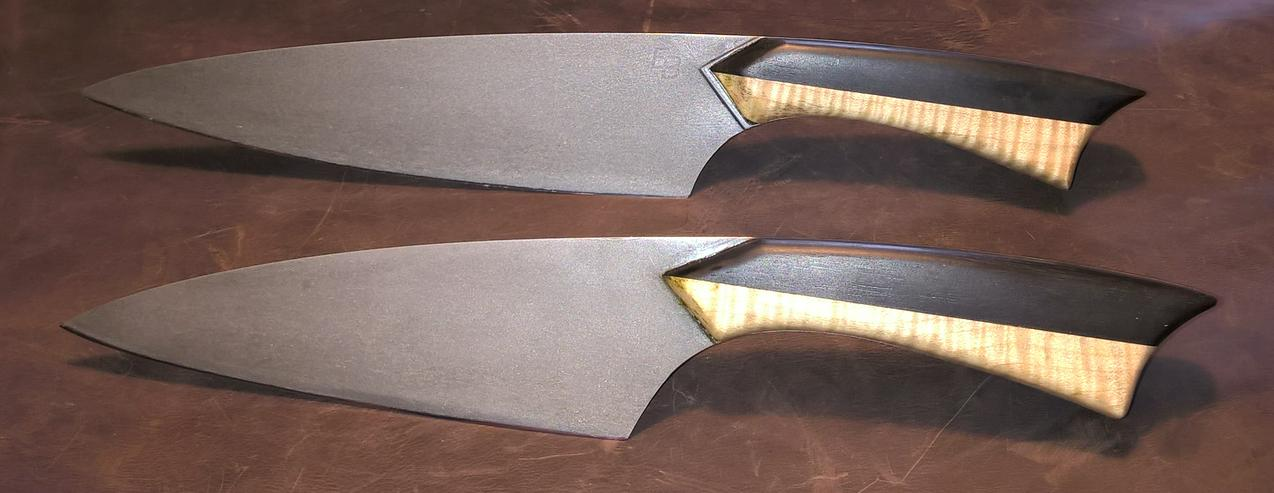 Bild 2: Sehr schöne handgefertigte Kochmesser 2 Stück