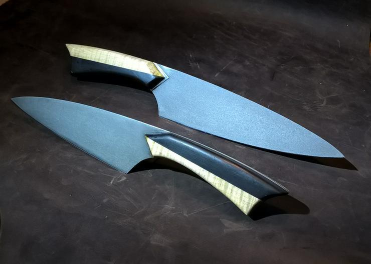 Bild 3: Sehr schöne handgefertigte Kochmesser 2 Stück