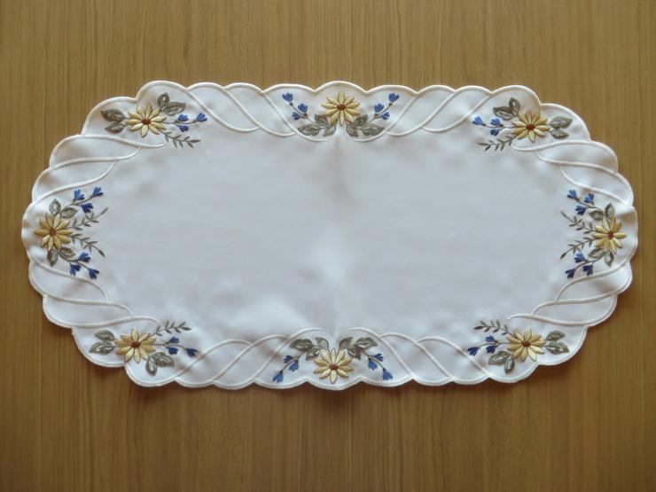 Deckchen Plauener Stickerei