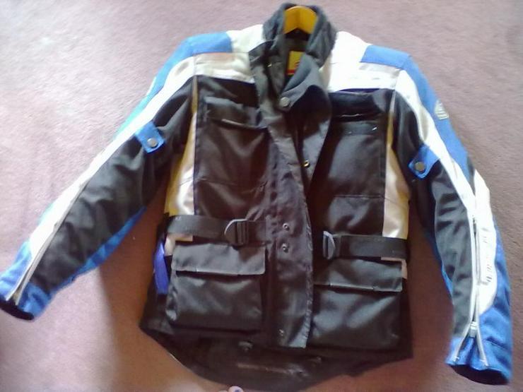 pretty nice fe4fd 71599 Hein-Gericke-sheltex-Jacke -blau-weiss-schwarz-Gr-S-Lady-b bofi1A1DUXxrl8PChY mg3YVEQPH98clTBFxOvI Ju0.jpg