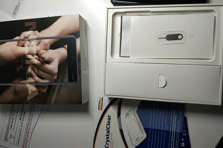 Bild 5: Nokia 8 mit Android 9 + 32 GB Karte + Garantie  + Zubehör