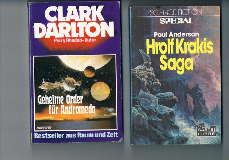 Bild 3: 45 Science-Fiction- und Fantasy-Bücher.