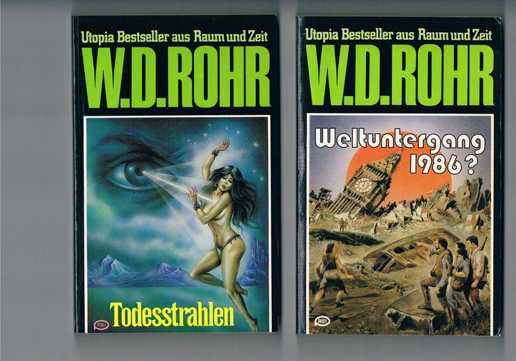Bild 2: 45 Science-Fiction- und Fantasy-Bücher.