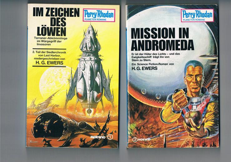 Bild 6: 45 Science-Fiction- und Fantasy-Bücher.