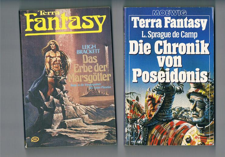45 Science-Fiction- und Fantasy-Bücher.  - Romane, Biografien, Sagen usw. - Bild 1
