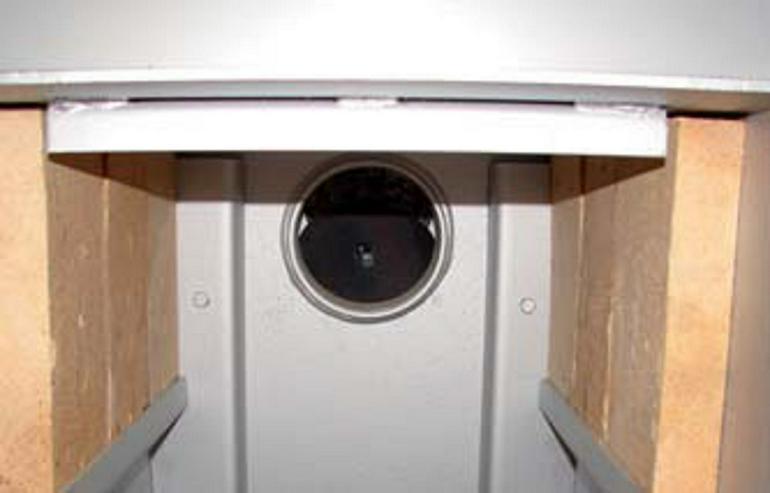 1A Abschirmstein für Brennkammer für alle Holzvergaser HVS 16 LC