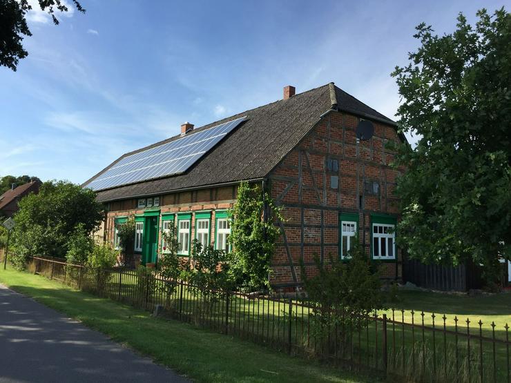 Historisches Querdielenhaus im Wendland (modernisiert und ursprungsbelassen)