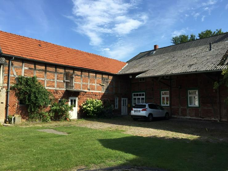 Bild 3: Historisches Querdielenhaus im Wendland (modernisiert und ursprungsbelassen)