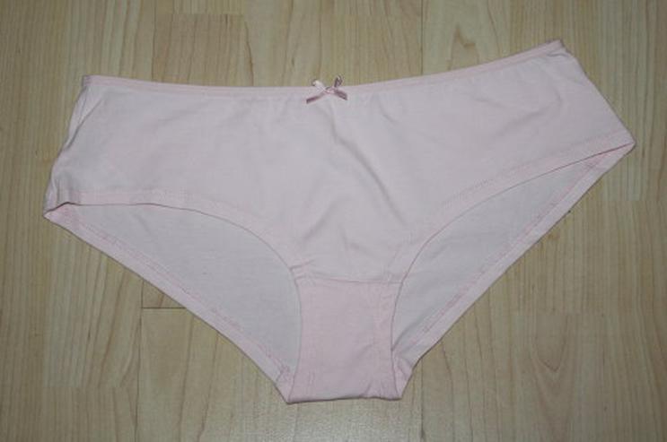 Bild 3: Damen Hipster Pants Panty Hotpants Slips grau rosa M 40/42 NEU