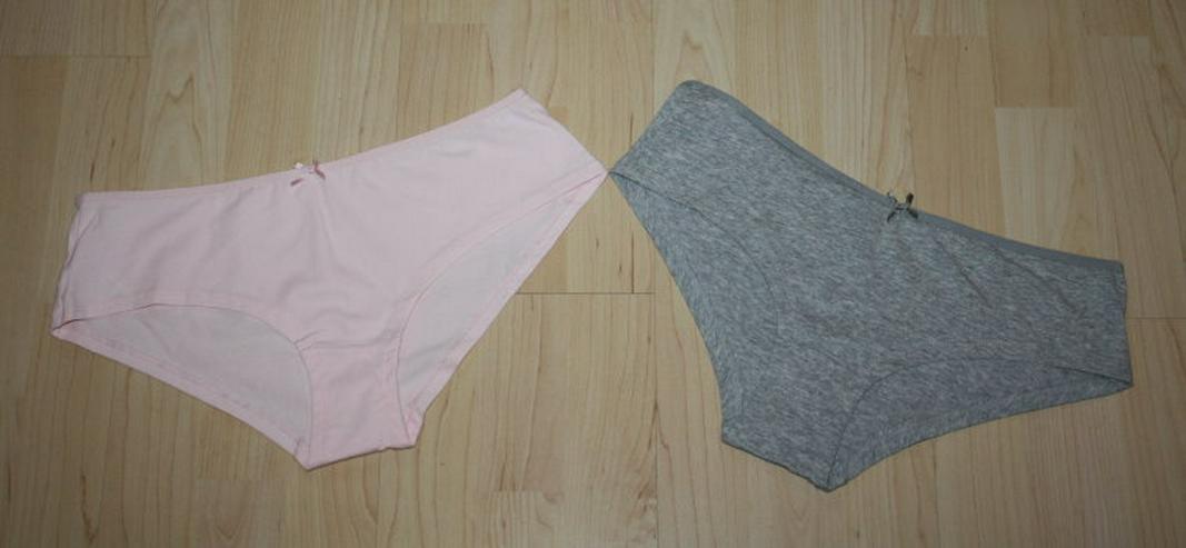 Damen Hipster Pants Panty Hotpants Slips grau rosa M 40/42 NEU