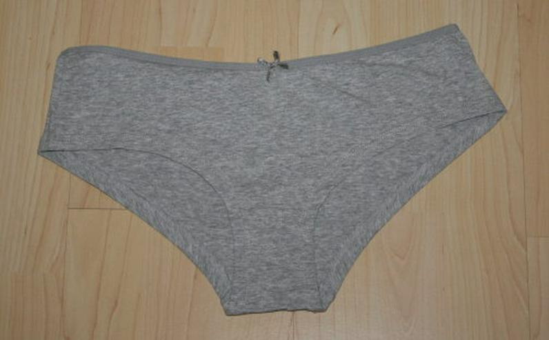 Bild 2: Damen Hipster Pants Panty Hotpants Slips grau rosa M 40/42 NEU